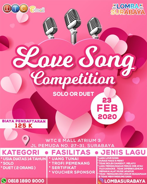 Love Song Competition