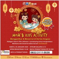 Mom & Kids Activity & Donor Darah WTC E-Mall