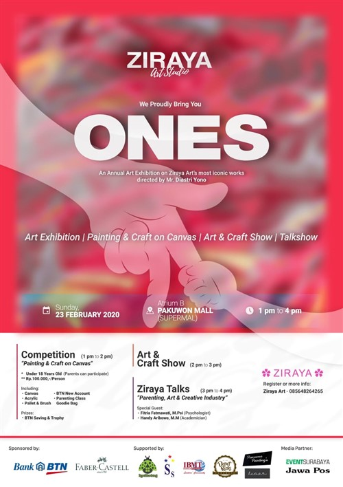 "ONES ""An Annual Art Exhibition on Ziraya Art's mos Iconic Works"""