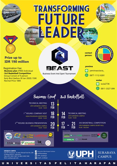 BEAST, Business Event and Sport Tournament