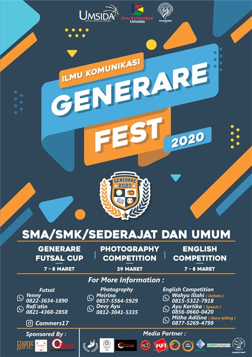 Ilmu Komunikasi Generare Fest 2020