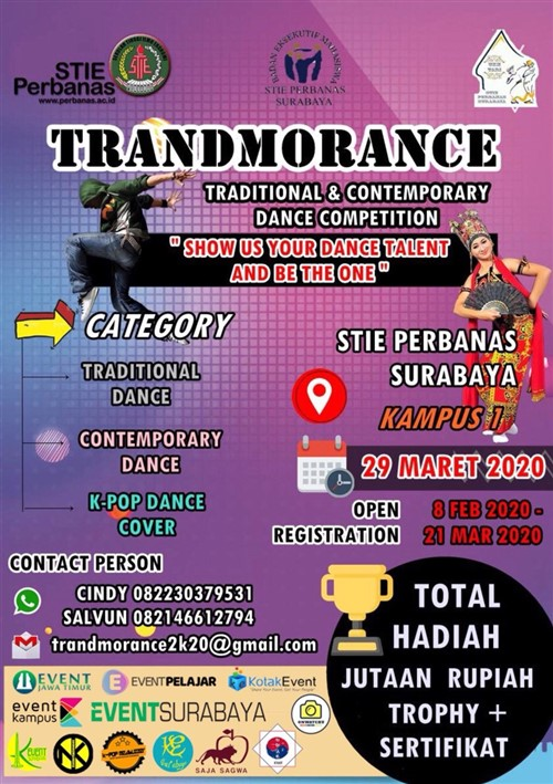 Trandmorance Culture Exchange Se-Jawa Timur (Traditional and Contemporary Dance Competition)
