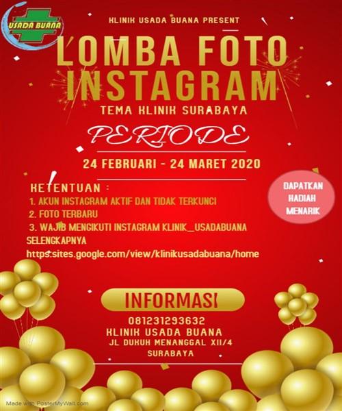 Lomba Foto Instagram KLINIK SURABYA
