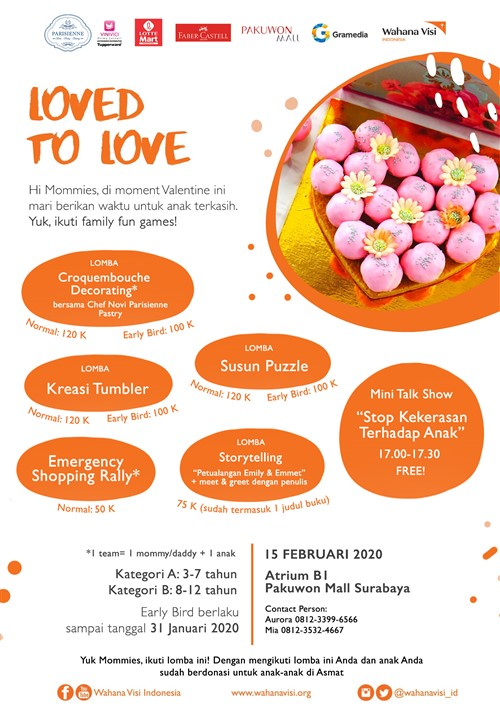 """Family Fun Games Wahana Visi Indonesia """"Loved to Love"""""""