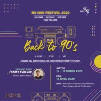 "MS HIGH FESTIVAL 2020 ""Back to 90's"""