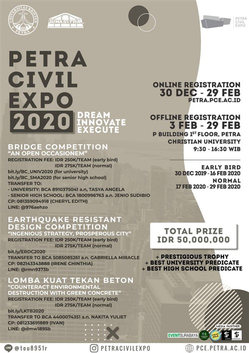 "Petra Civil Expo 2020 ""Dream Innovate Execute"""