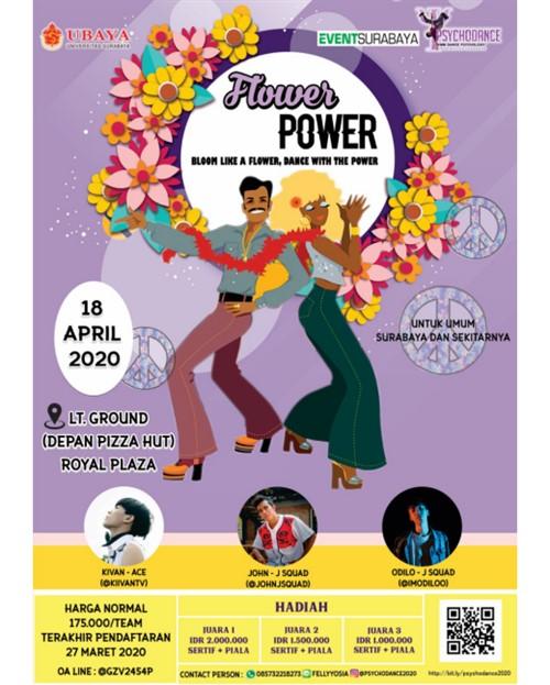 Flower Power 2020 KMM Dance Psikologi UBAYA