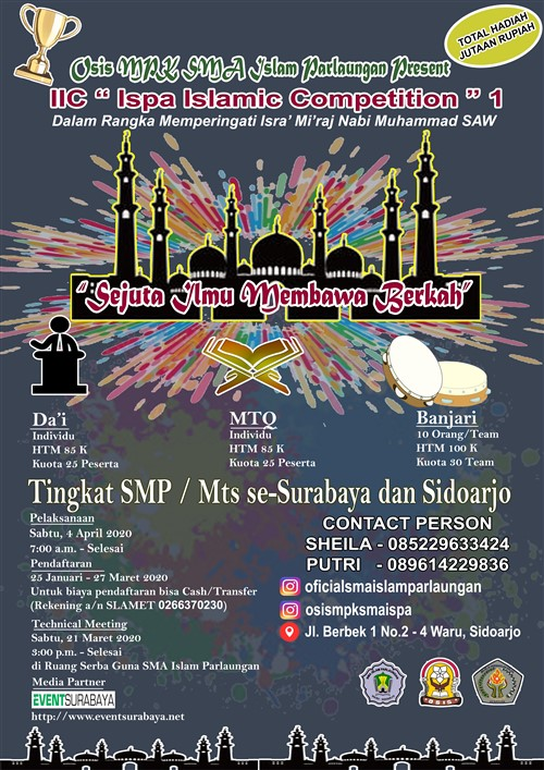 "IIC ""Ispa Islamic Competition "" 1"