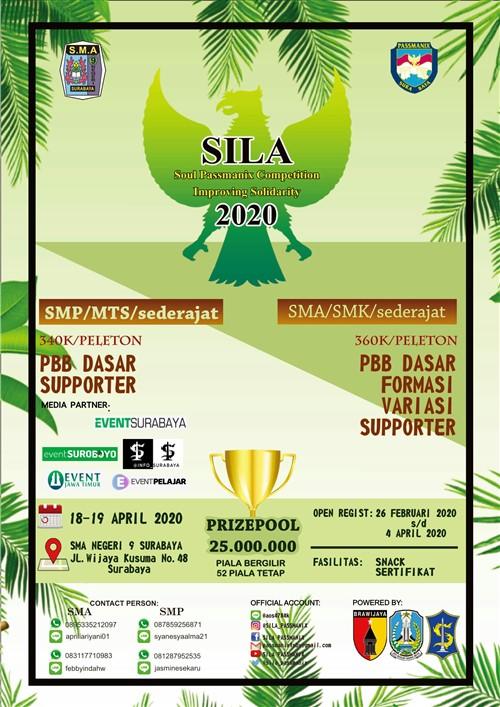 """SILA 2K20, Soul Passmanix Competition Improving Solidarity """"Membentuk Generasi Muda yang Kreatif dan Berbudaya"""""""