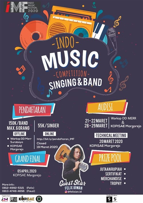 Indo Music Competition Singing & Band