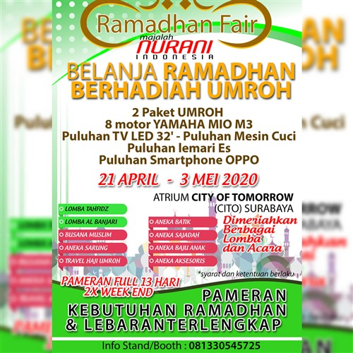 Ramadhan Fair 2020 Majalah Nurani Indonesia