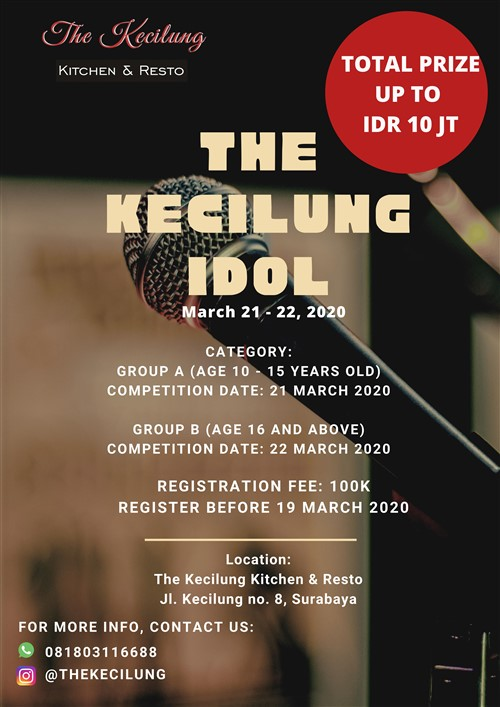 The Kecilung Idol