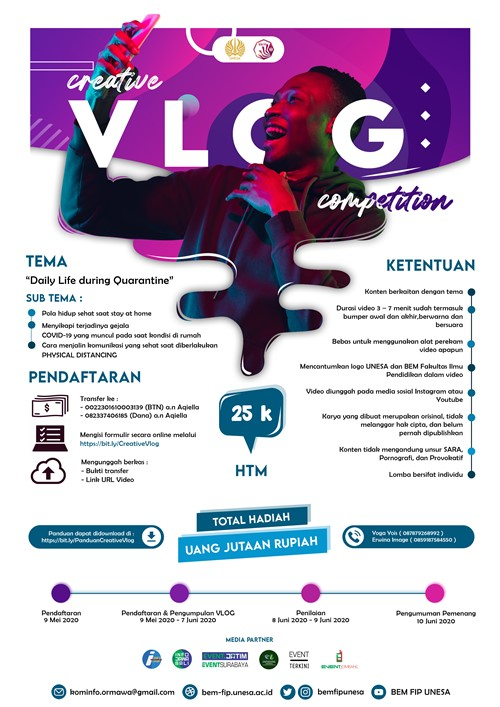 Creative Vlog Competition