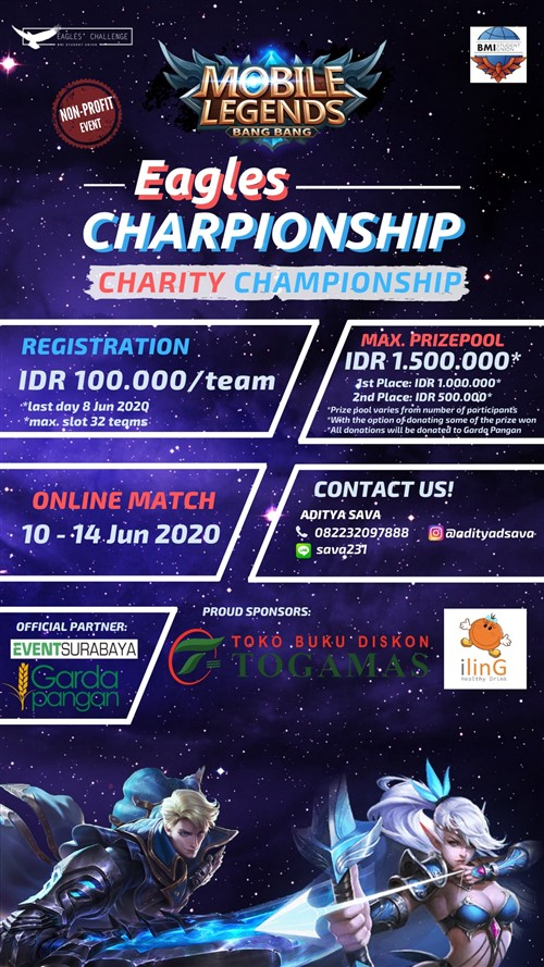 Mobile Legends Eagles Charity Championship