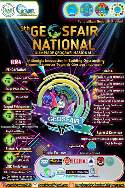 "5th Geosfair National, ""Olimpiade Geografi Nasional"""