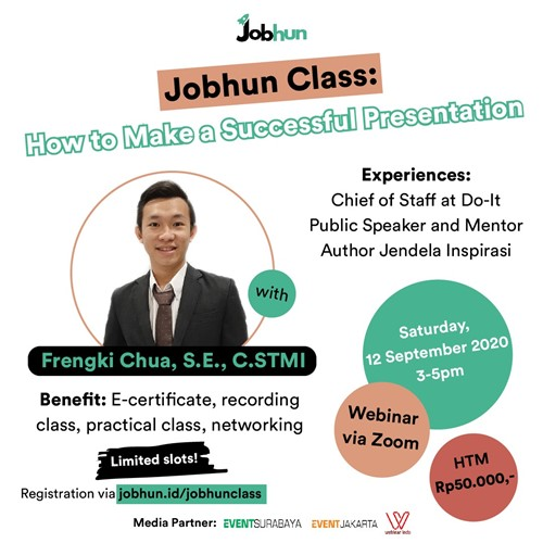"Jobhun Class : ""How to Make a Successful Presentation"