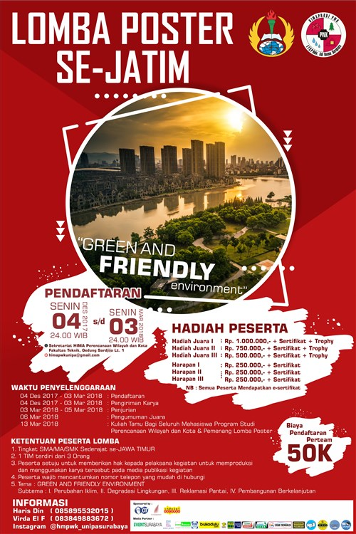 Lomba Poster Se – Jatim : Green and Friendly Environment ...