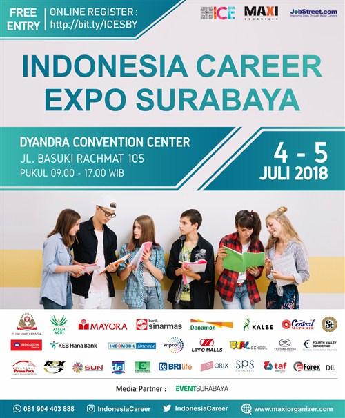 Indonesia Career Expo 2018 Surabaya · EventSurabaya