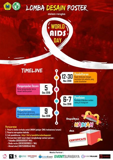 "Lomba Desain Poster ""World Aids Day"" · EventSurabaya"