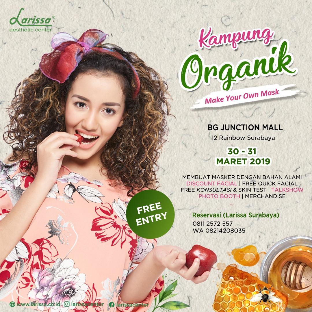 """Kampung Organik """"Make Your Own Mask"""" · EventSurabaya"""