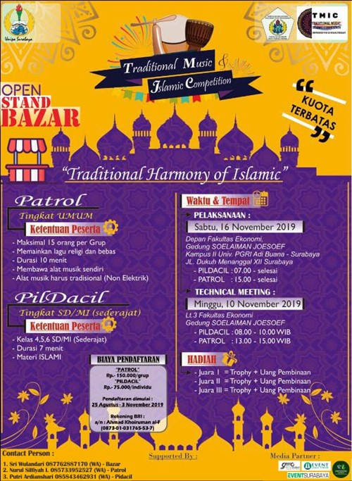 Traditional Music and Islamic Competition · EventSurabaya